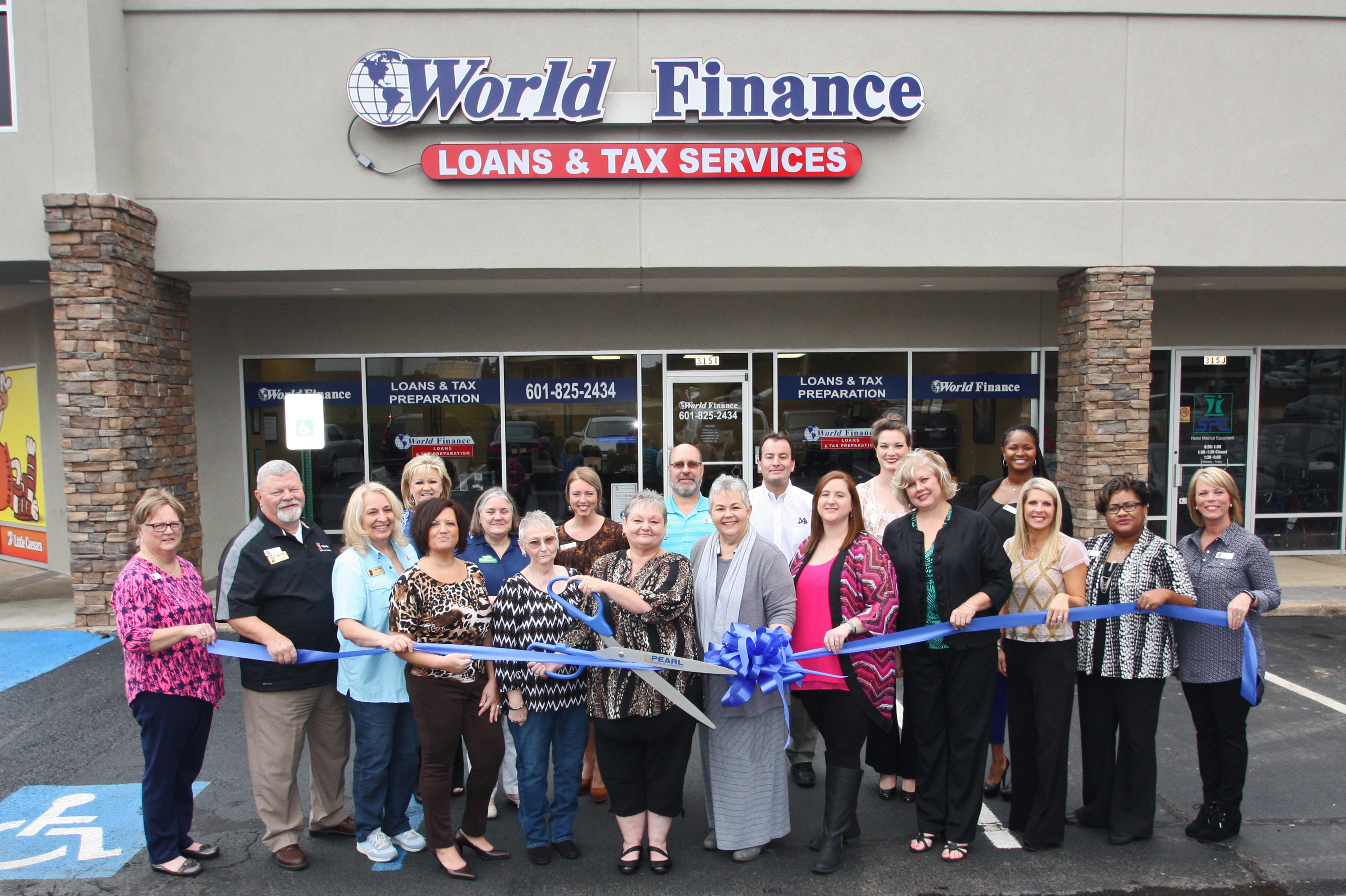 Acceptance Loan Company >> World Finance | Pearl Chamber of Commerce